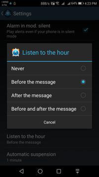 Speaking AlarmClock screenshot 4