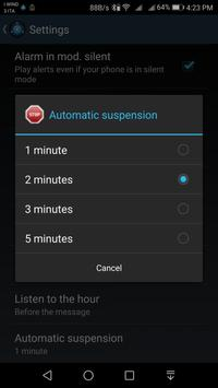 Speaking AlarmClock screenshot 5