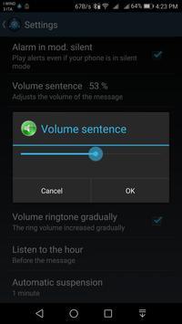 Speaking AlarmClock screenshot 6