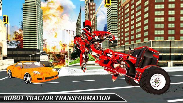 Gorilla Robot Tractor Transform- Multi Robot games screenshot 11