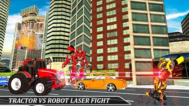 Gorilla Robot Tractor Transform- Multi Robot games screenshot 1