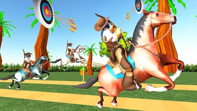 Horseback Mounted Archery Horse Archer Derby quest screenshot 7