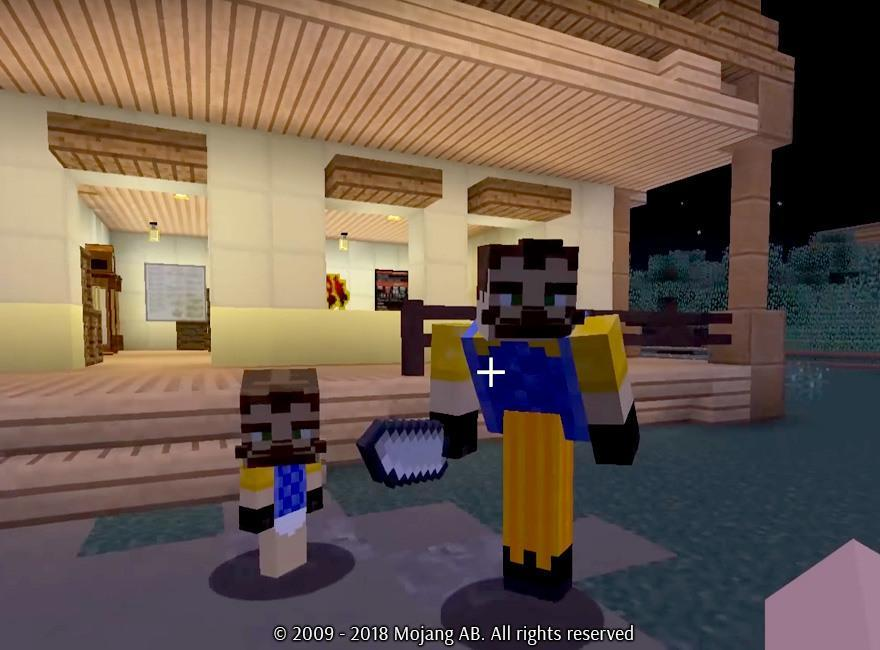 Mod Hello Neighbor In Minecraft For Android Apk Download