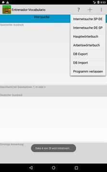 Hablamos Español Wortschatz apk screenshot