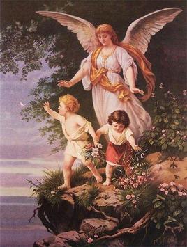 Angel de la Guarda mi amigo fiel poster