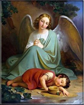 Bello Angel de la Guarda poster