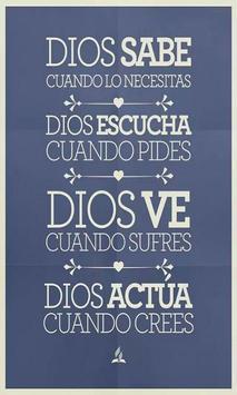 Frases de Dios por la Vida poster