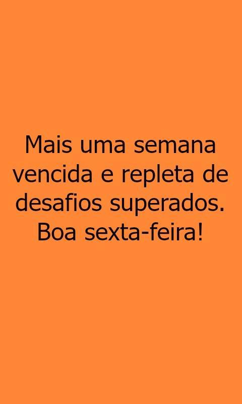 Frases De Sexta Feira For Android Apk Download