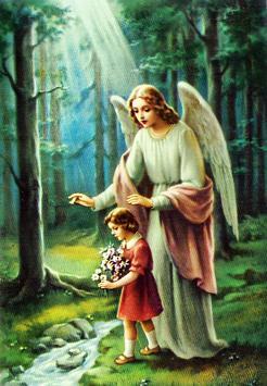 Oracion Angel de la Guarda poster