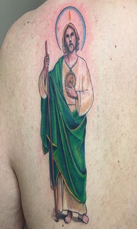San Judas Tattoo: San Judas Tadeo Tattoo For Android