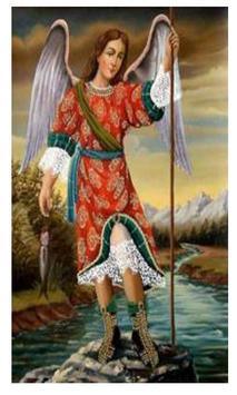San Rafael Arcangel poster