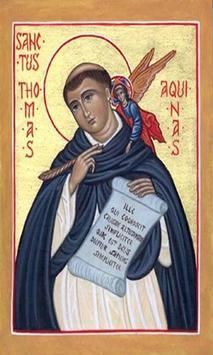 Santo Tomas de Aquino poster