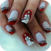 Colored nails icon