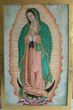 Virgen Guadalupe dibujo color screenshot 1