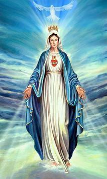 Virgen Maria Fondo poster