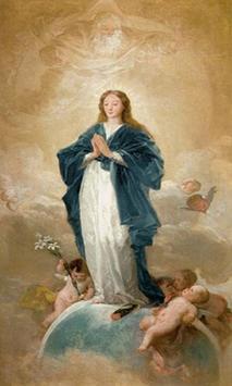 Virgen Maria Humilde poster