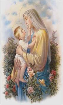 Virgen Maria Madre de Jesus poster