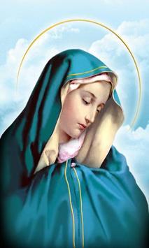 Virgen Maria Mexico poster
