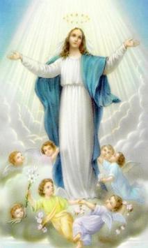 Virgen Maria Oracion 1 poster