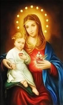 Virgen Maria Oracion poster