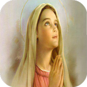 Virgen Maria Orando icon
