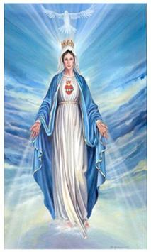 Virgen Maria Orando poster