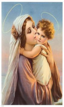 Virgen Maria Reina poster