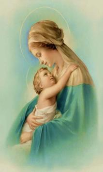 Virgen Maria Rosario 2 poster