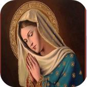 Virgen Maria Rosario icon