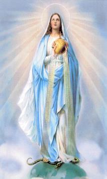 Virgen Maria Rosario poster