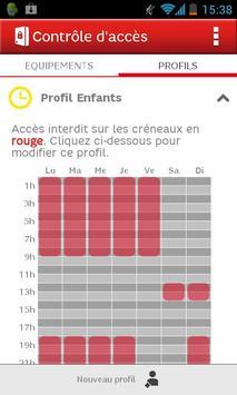 SFR Contrôle d'accès apk screenshot