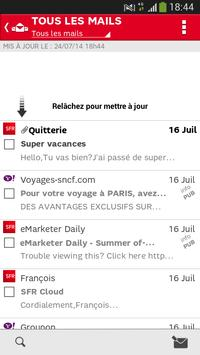 SFR Mail screenshot 1