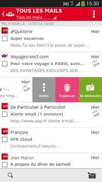 SFR Mail screenshot 2