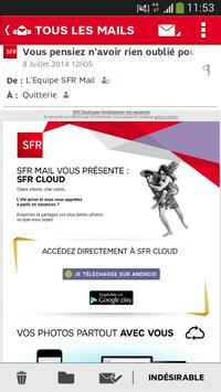 SFR Mail screenshot 3