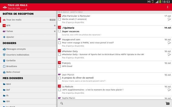 SFR Mail screenshot 5