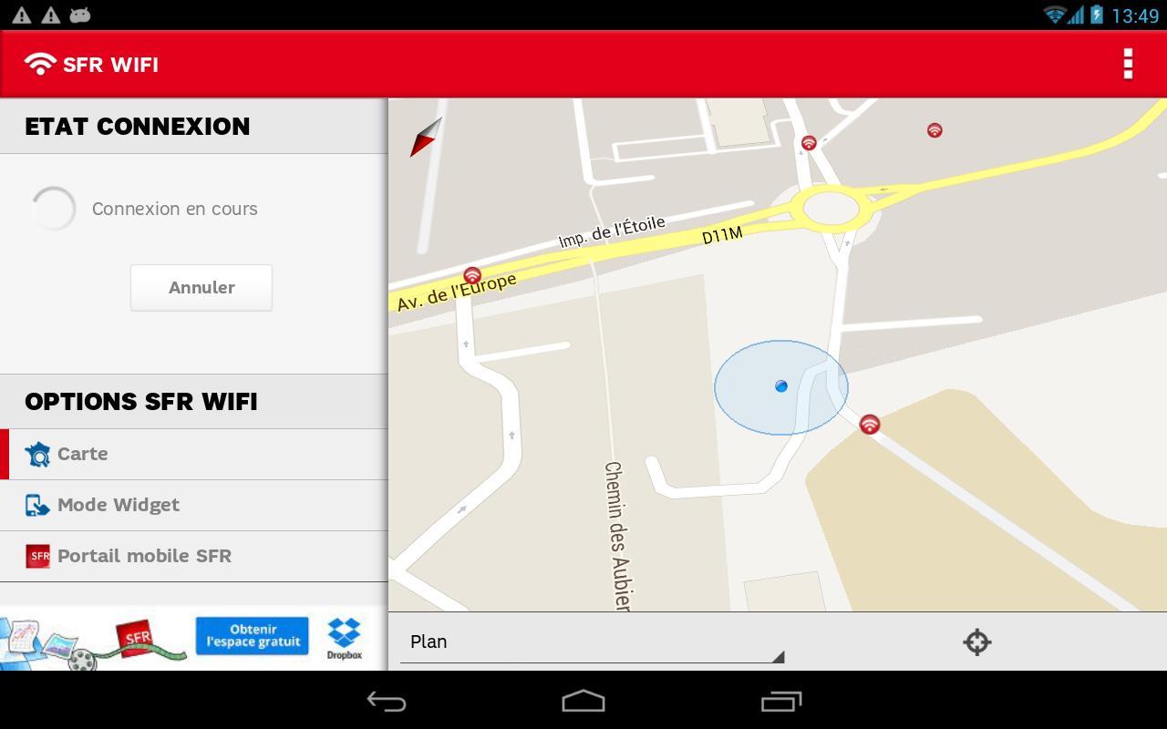 download sfr wifi app