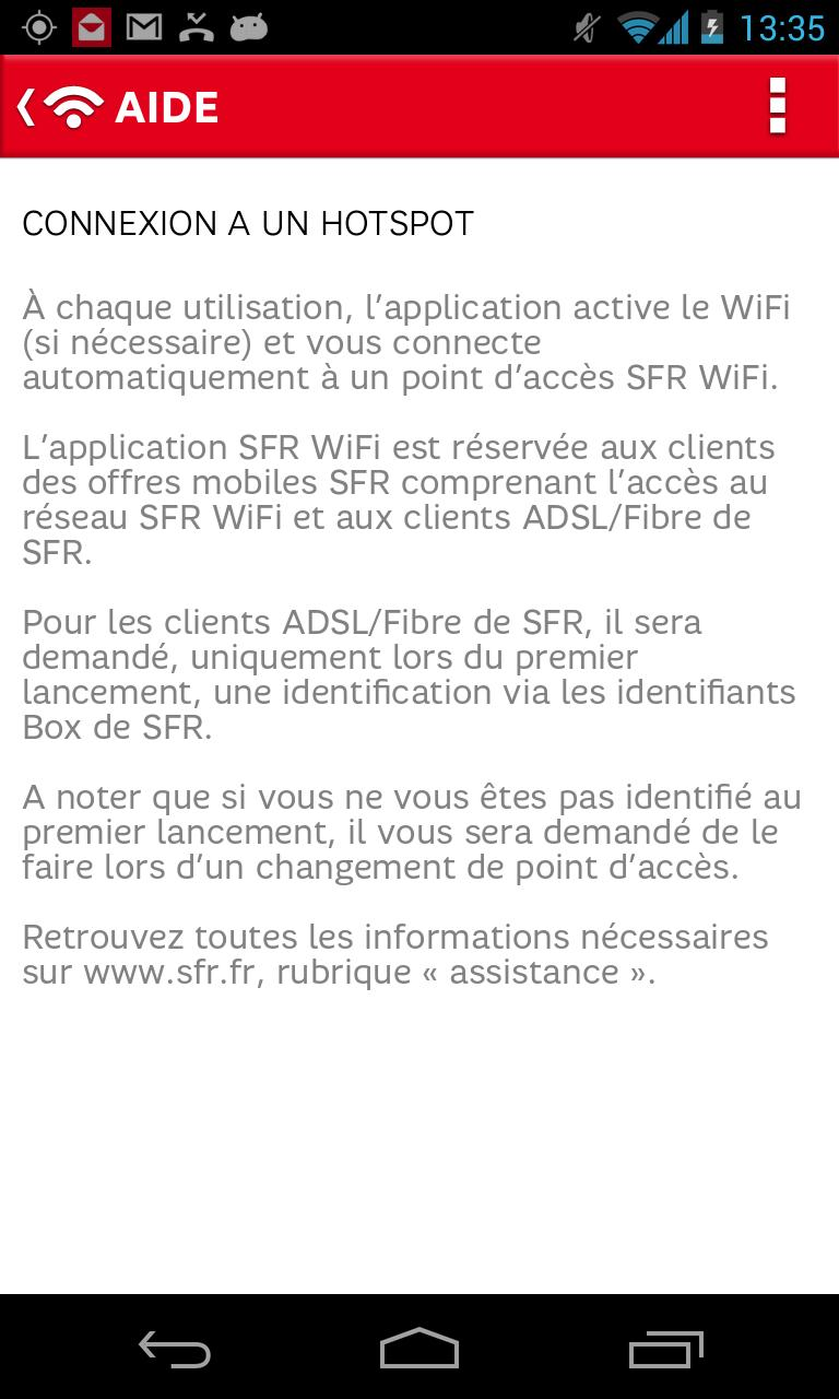 SFR WiFi for Android - APK Download