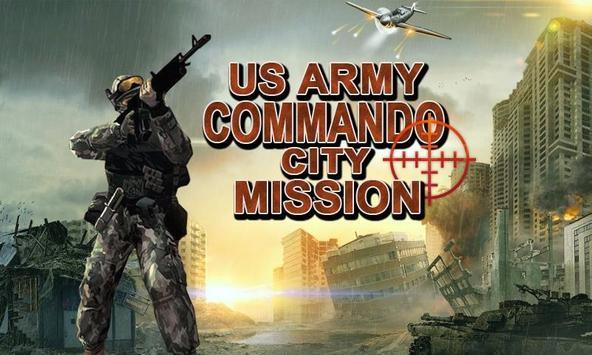 Commando Shooter Terrorist  Secret Rescue Mission poster