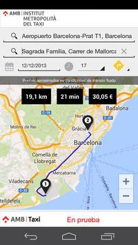 AMB Taxi Barcelona apk screenshot