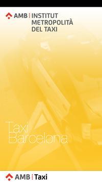 AMB Taxi Barcelona poster