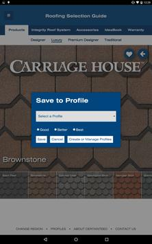 CertainTeed Roofing Guide apk screenshot