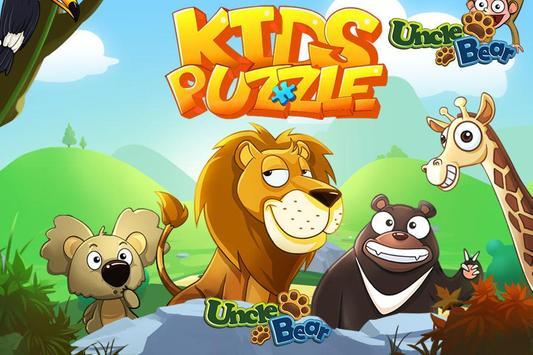 Kids Puzzle: Animal poster