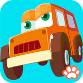 Line Game for Kids: Vehicles icon