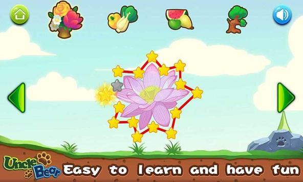Line Game for Kids: Plants screenshot 2