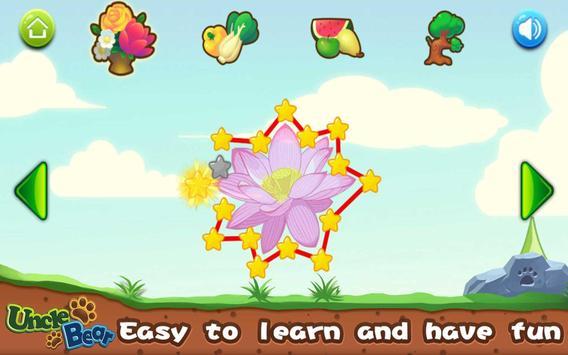 Line Game for Kids: Plants screenshot 7