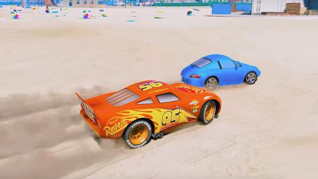 Super Hero Cars Lightning Mcqueen Car Racing Games screenshot 7