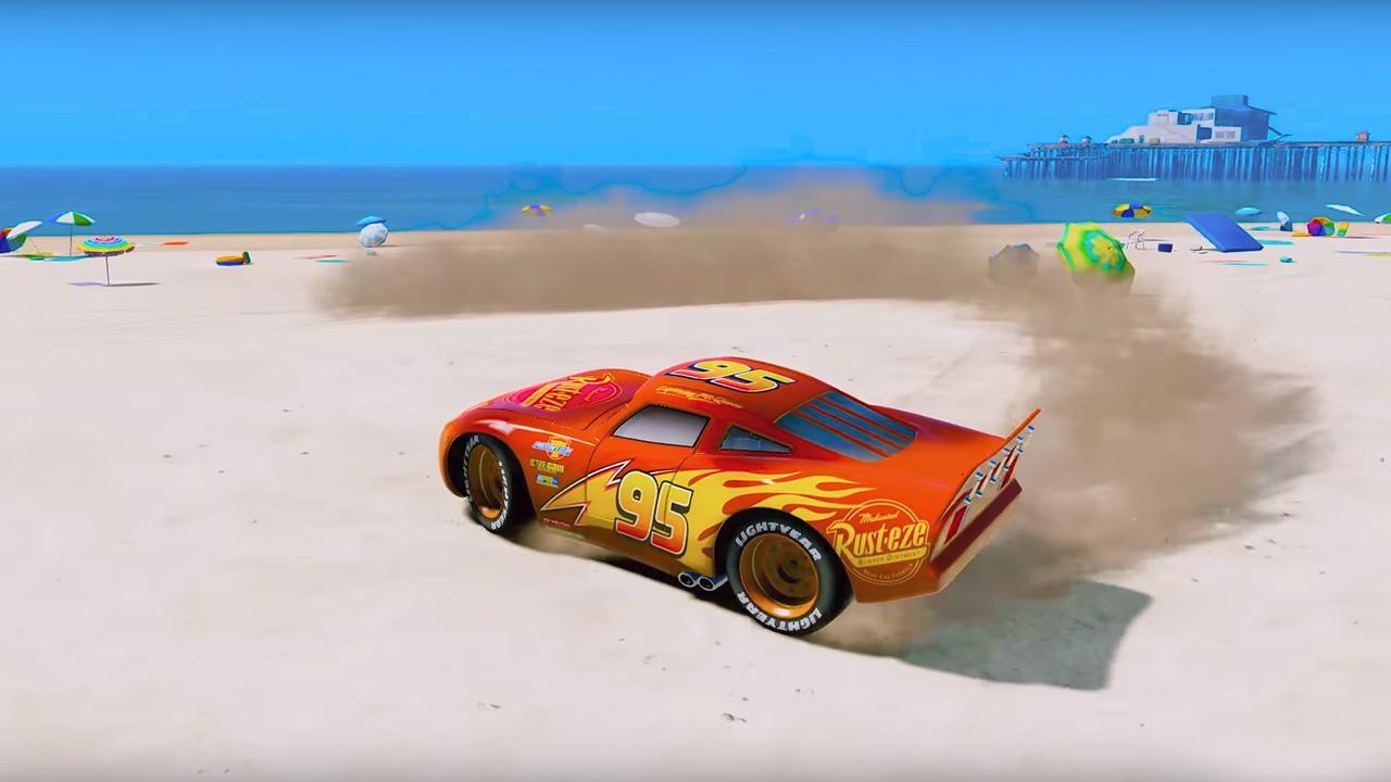 super hero cars lightning mcqueen car racing games for