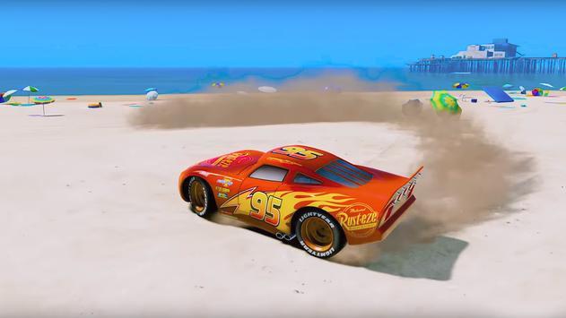 Super Hero Cars Lightning Mcqueen Car Racing Games screenshot 9