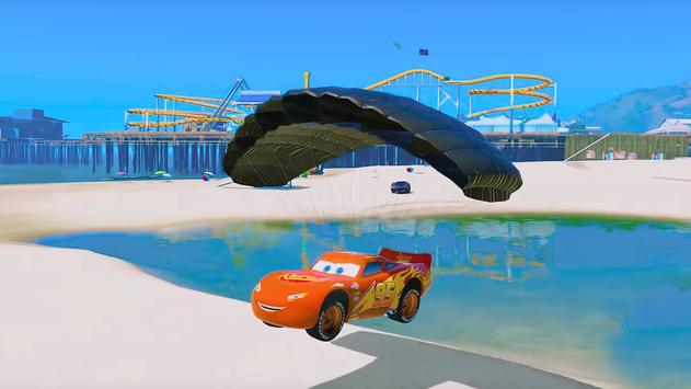 Super Hero Cars Lightning Mcqueen Car Racing Games screenshot 2