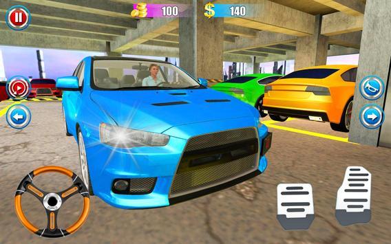 Super Car 3D Adventure Parking screenshot 1